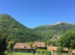 View of the meadows Dizzasco Lake Como