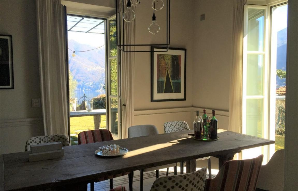 Villa Meridiana in Moltrasio with Pool Garden and Lake Como view