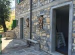 Entrance of the Cottage Valle Intelvi