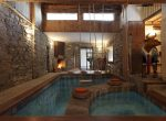 Indoor Pool and Jacuzzi luxury property rent Cernobbio