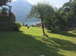 Lake Views from the garden in Moltrasio