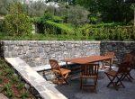 Outside the cottage in Pescallo Bellagio