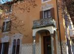 Entrance Villa Laglio