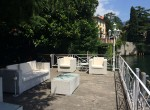 Terrace and Dock Villa Como