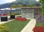 flat garden in pognana