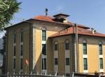 facade of the condominium