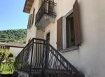 Main Entrance House for Sale Schignano