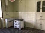 kitchen in schignano house for sale
