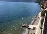 spiaggia di colonno nel lago di como