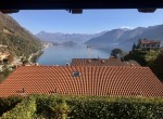 Argegno nice semi-detached house with garden and lake view