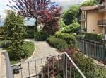 argegno house with garden