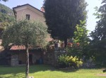 back of the villa for sale in lake como