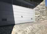 garage of the villa for sale in lake como carate urio