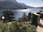 panorama of lake como in carate urio villa for sale