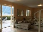 soggiorno con patio casa in vendita