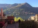 terrace form the condo carate urio lake como