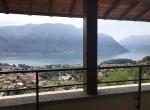 terrace lake como view