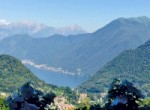 Lake como view from the house