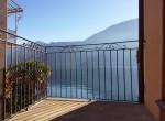 shared terrace in lake como