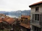 balcone vista lago colonno