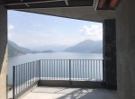 lake view from terrace apt for sale argegno