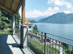 patio lake como view house for sale mod