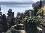 lake view fro the villa in moltrasio