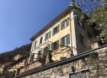 Villa in Moltrasio to restore with large garden and lake view