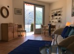 Living Room Lake Como View For Rent
