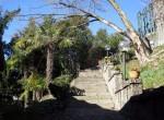 Argegno lake como villa with garden for sale