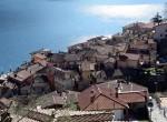 Panoramic view Argegno Lake Como