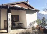 back of the villa argegno