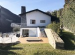 villa garden jacuzzi argegno