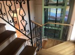 villa with staircase and lift-22