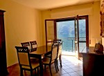 argegno apartment with private parking