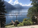 argegno apartment with terrace lake view