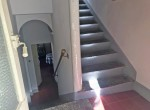 staircase period house to renovate first basin