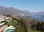 16 apartment with lake view, pool and garage como