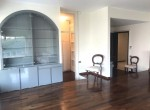 8 livingroom and crystal cabinet