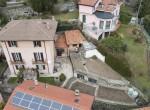 villa in Moltrasio with lake view