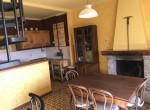 04 fireplace and spiral staircase madrona cernobbio