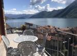 argegno lake como apartment terrace