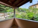11. Terrazzino camera Casa Pinuccia Argegno