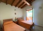 9. Casa Pinuccia camera con due letti singoli Argegno