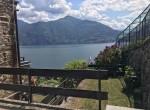 Acquaseria appartamento con giardino e vista lago