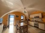 kitchen with lake view lake como