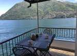 Terrace directly on the Lake, Brienno