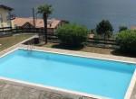 lake como apartment with pool