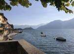 beach of Colonno lake Como