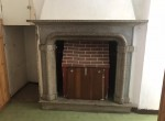 fireplace in Argegno house for sale